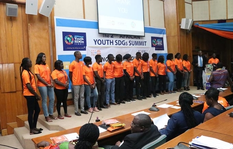 UNFPA Ghana's Youth Fellows for 2018/2019