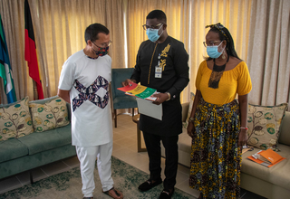 UNFPA Ghana Country Rep Calls on Australian High Commissioner.