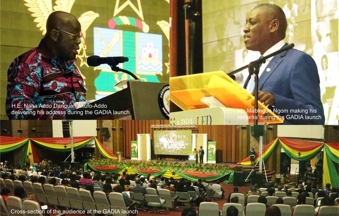 Prez. Nana Akufo Addo and UNFPA Regional Director for WCA  Mr. Mabingue Ngom