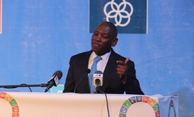 UNFPA Regional Director, speaking at the opening of the 2nd African Youth SDGs Summit