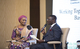 HE Samira Bawumia engaged in a tête-a-tête with the UNFPA Country Representative, Mr Niyi Ojuolape