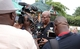 IGP, Mr. James Oppong Boanuh, addressing the media